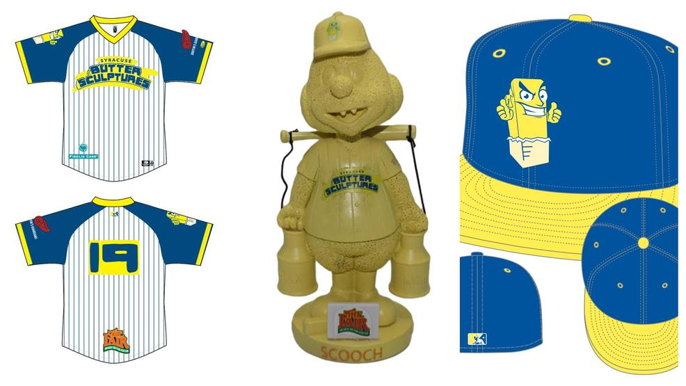 Syracuse Mets will become the 'Butter Sculptures' for Fair-themed game in July