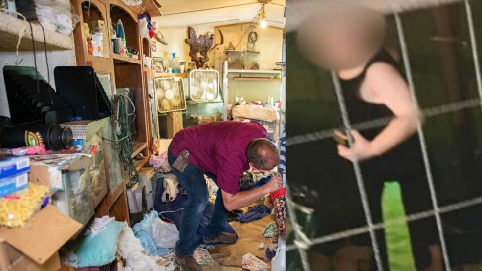 'Caged Hell' Video reveals Tennessee home where baby was kept in cage, 700 animals rescued