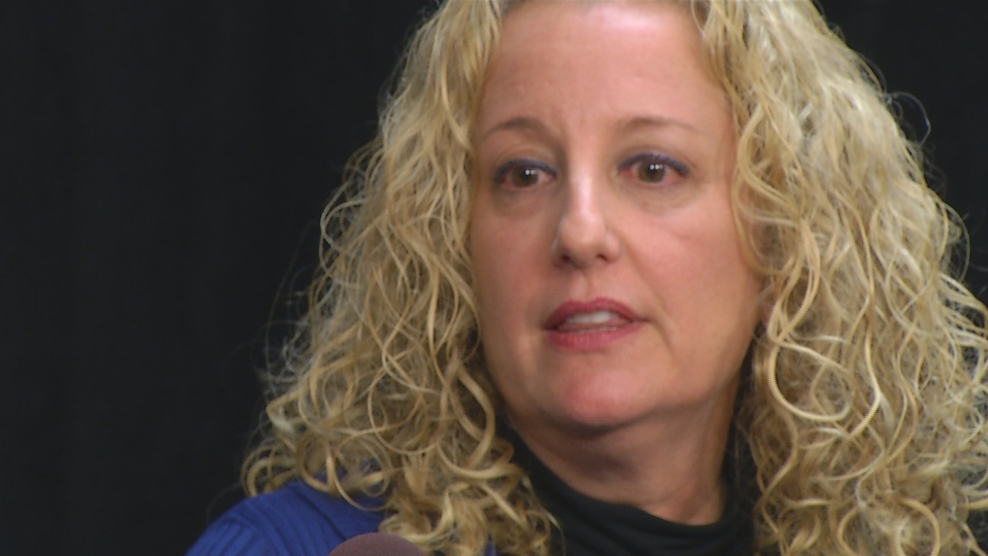Tonya McConnell, pictured here, doesn't believe the health department will have accurate data to complete their investigation of a cancer cluster. (WJAR photo)<p></p>