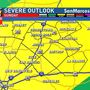 Storms possible starting Sunday afternoon
