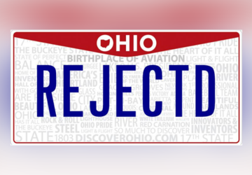 Ohio BMV shares all the rejected personalized license plates from the past year