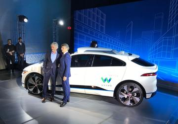 Waymo, Jaguar Land Rover create first all-electric self-driving vehicle
