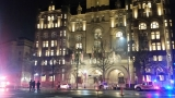 Man  sets fire outside Trump hotel in D.C.