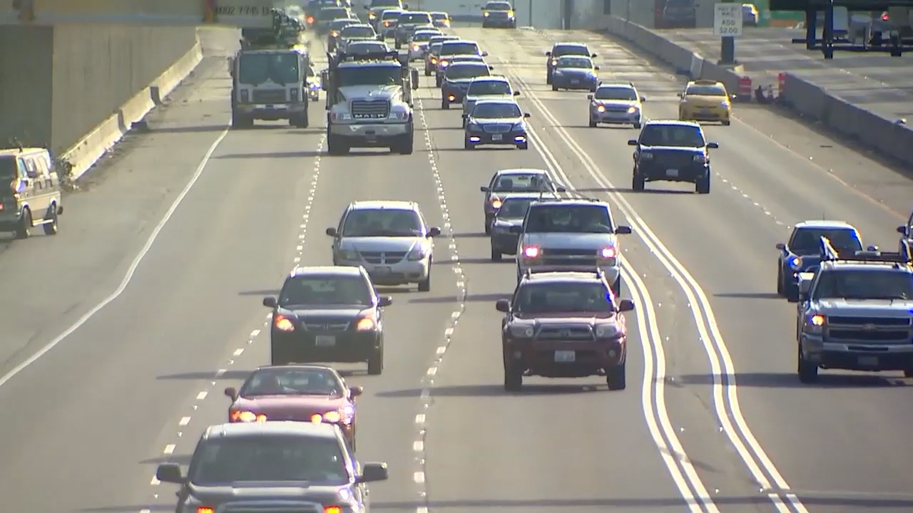 The express toll lanes on Interstate 405 celebrated their two-year anniversary in September. It was a pilot project state lawmakers had authorized for two years - but it's still going.  (Photo: KOMO News)