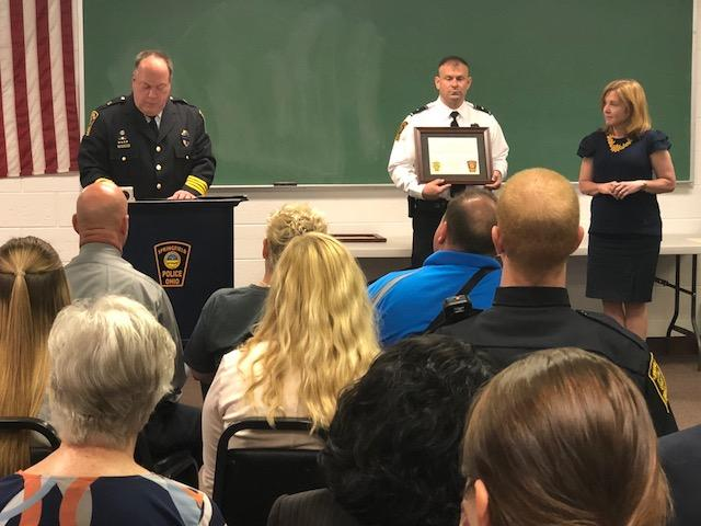 Springfield Police honor officers killed in the line of duty through Law Day ceremony (WKEF/WRGT)