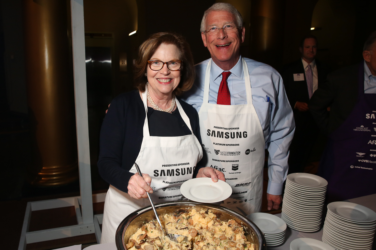 Sen. Roger Wicker and his wife Gayle. (Amanda Andrade-Rhoades/DC Refined)