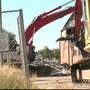 Demolition begins at T.A. Brown Elementary