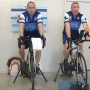 Kalamazoo police officers ride for six hours to raise money for the Police Unity Tour