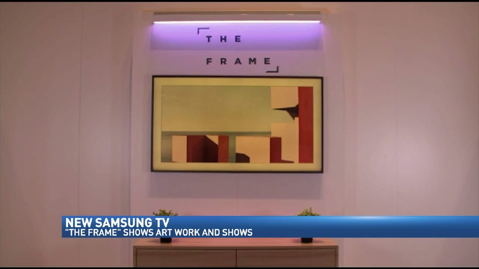 samsung unveiling newest television dubbed 39 the frame 39 wwmt. Black Bedroom Furniture Sets. Home Design Ideas