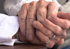 Elderly newlyweds find love during COVID-19 pandemic