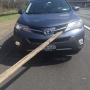 Rotterdam woman's SUV was impaled by a 2x4