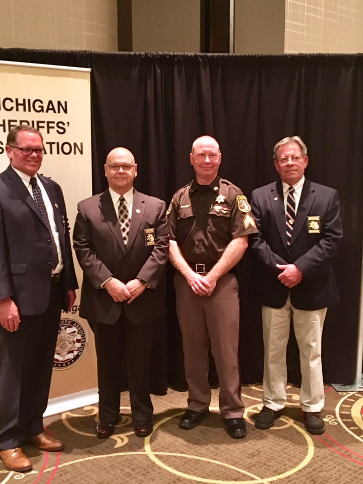 Sheriff's Medal of Honor: Lenawee County Sgt. Alex Perdue (Photo Courtesy: Michigan Sheriffs' Association)