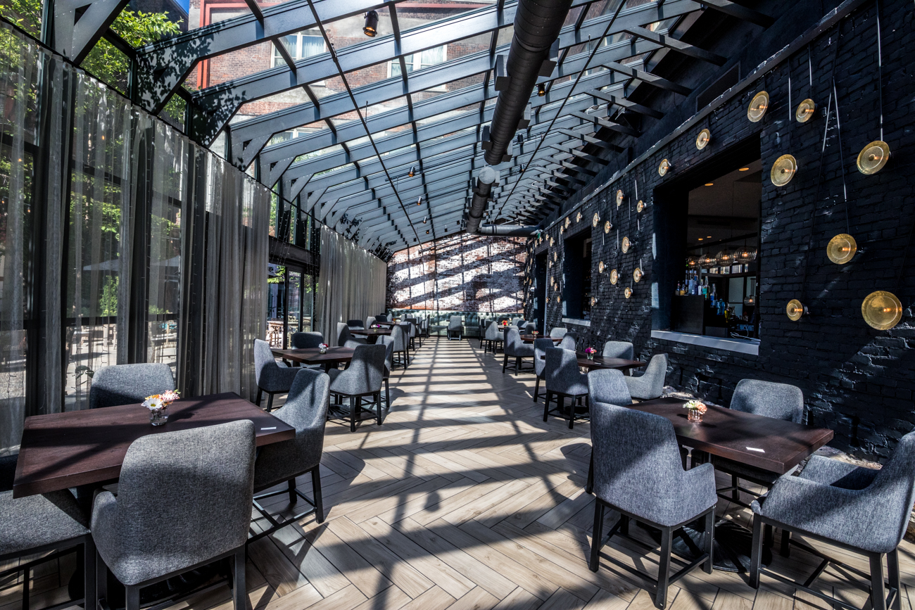 PLACE: Coppin's Restaurant and Bar at Hotel Covington / ADDRESS: 638 Madison Avenue (Covington) / Coppin's is located in Hotel Covington, which was originally home to the iconic Coppins Department Store. The boutique hotel's restaurant serves New American brunch, lunch, and dinner with a focus on locally sourced ingredients. / Image: Catherine Viox // Published: 9.8.20