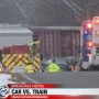 One killed in Edwardsburg collision between train, car