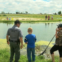 Kids cast a line for 'Fishing with First Responders' event