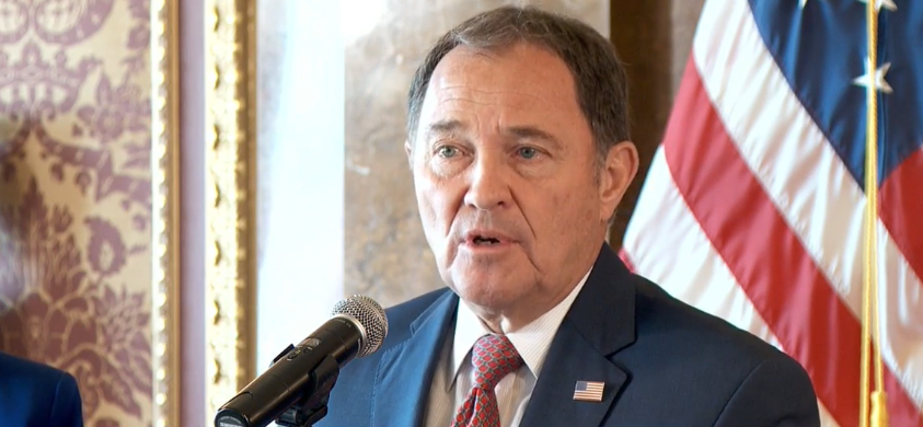<p>Gov. Gary Herbert will address the state Thursday for his weekly COVID-19 briefing. (Photo: KUTV)</p>