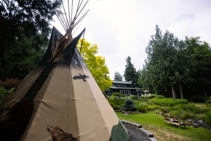 Where to Glamp in WA: In a Tipi | Seattle Refined