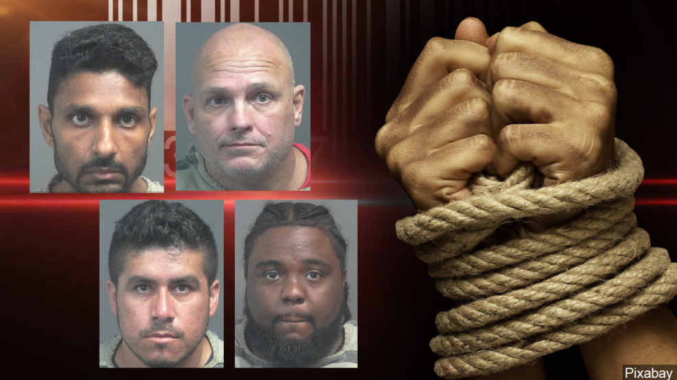 TBI: Four men arrested in ongoing sex trafficking
