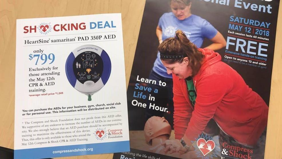 Foundation Offering Free Cpr And Aed Training Saturday Wset