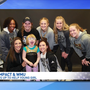 WMU gymnastics team welcomes 5-year-old with connective tissue disorder