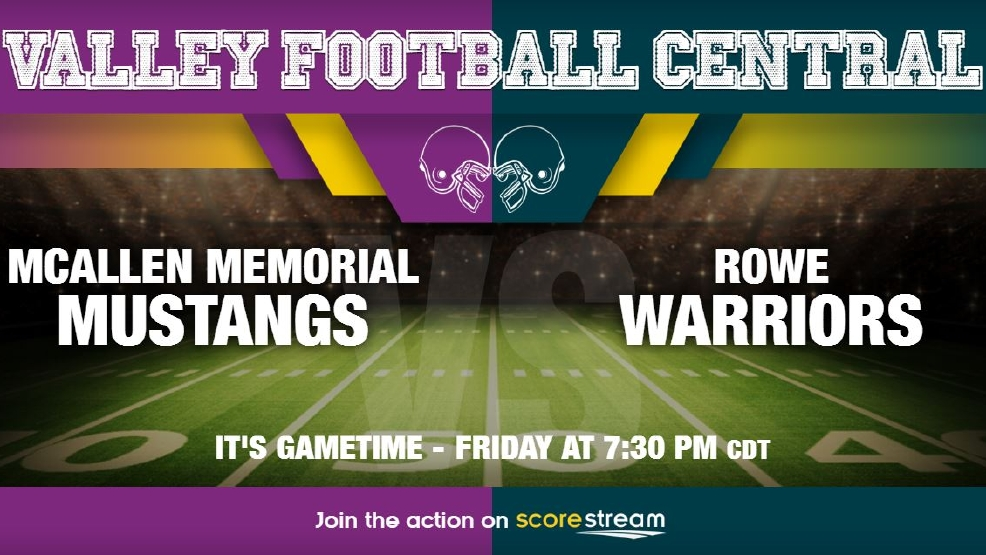 Listen Live: McAllen Memorial Mustangs vs. McAllen Rowe Warriors