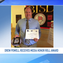 Borger ISD recognizes ABC 7's Drew Powell with the Media Honor Roll Award