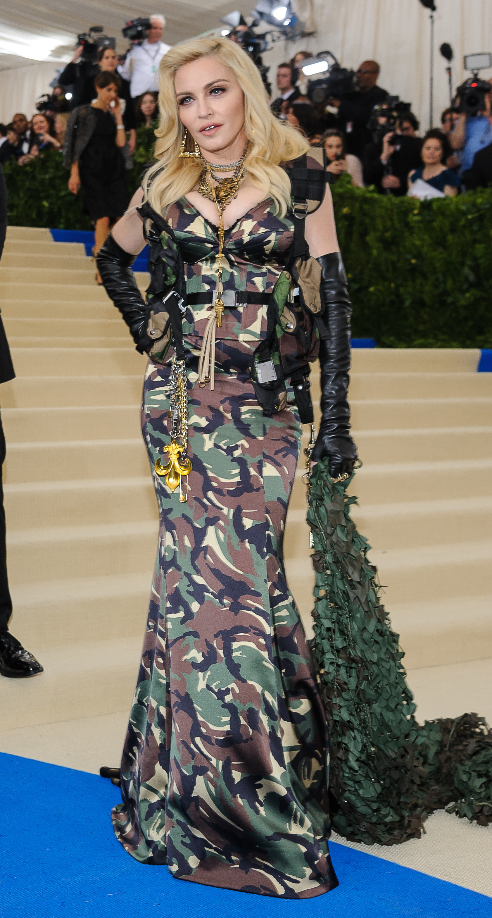 The Met Gala 2017 - Arrivals  Featuring: Madonna Where: New York, New York, United States When: 01 May 2017 Credit: WENN.com