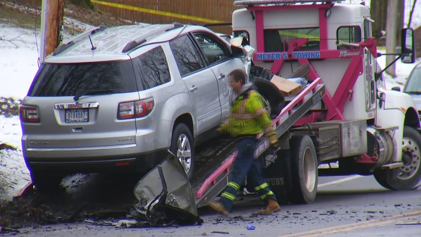 The SUV involved in a crash that claimed three lives was owned by a Syracuse dealership, CNYCentral has learned.<p></p>