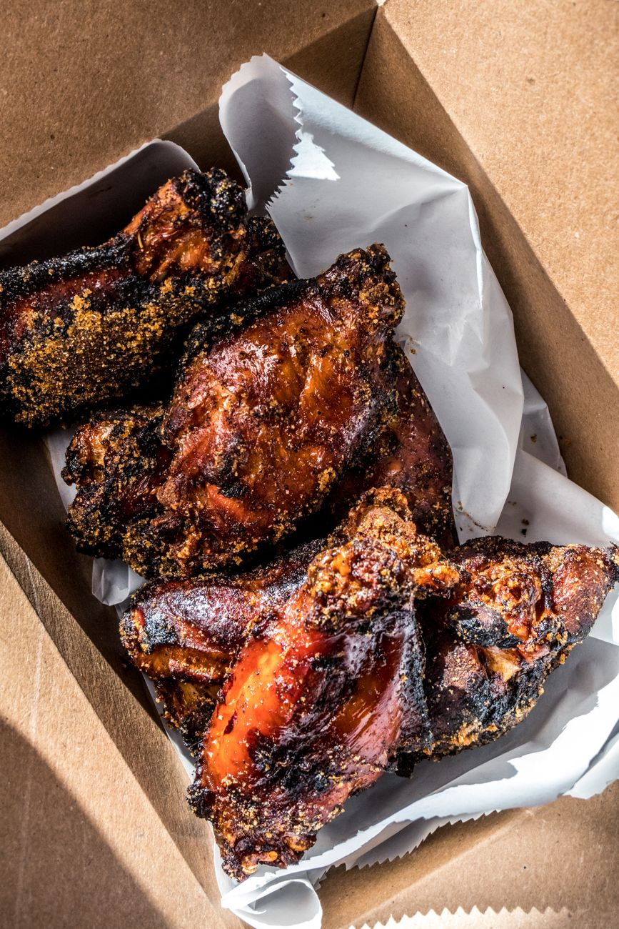 Smoked Wings from Lucius Q / Image: Catherine Viox // Published: 8.28.20