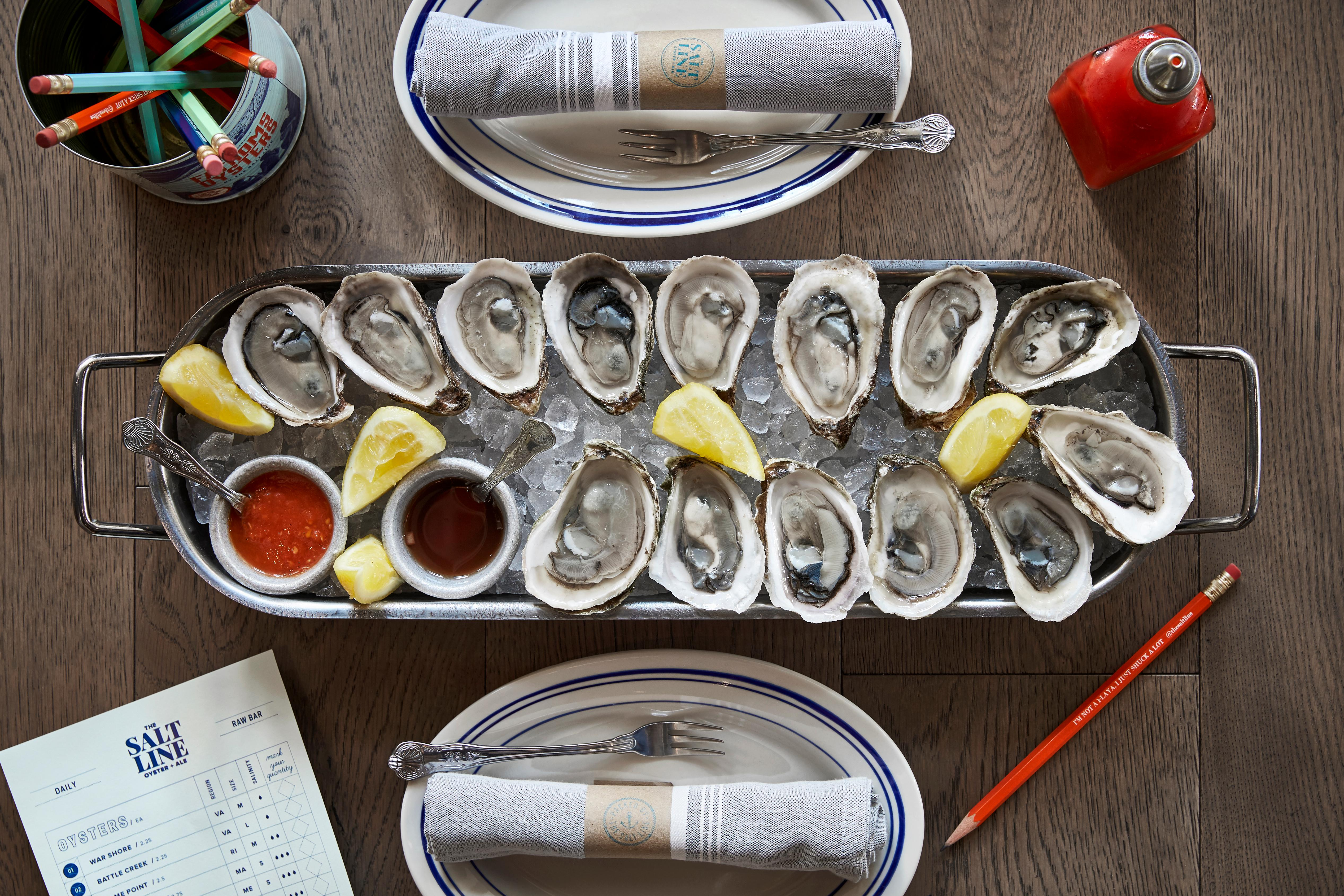 The Salt Line and Other Half Brewing Company will host the second annual Oyster Wars Saturday September 29. (Image: Greg Powers)