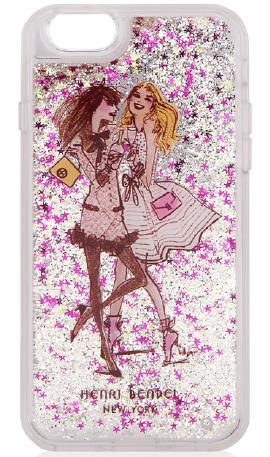 The Consumer Product Safety Commission has issued a recall for these glittery iPhone cases made by MixBin Electronics. (CPSC.GOV)
