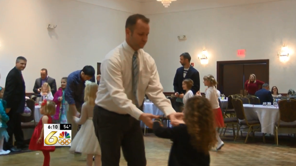 Residents Celebrate Valentines Day With Dad Daughter Dance