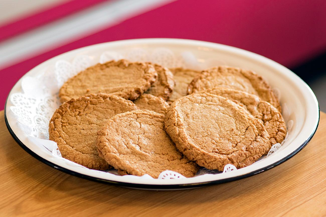 <p>Gluten-free peanut butter cookies  / Image: Allison McAdams // Published: 11.9.18</p>