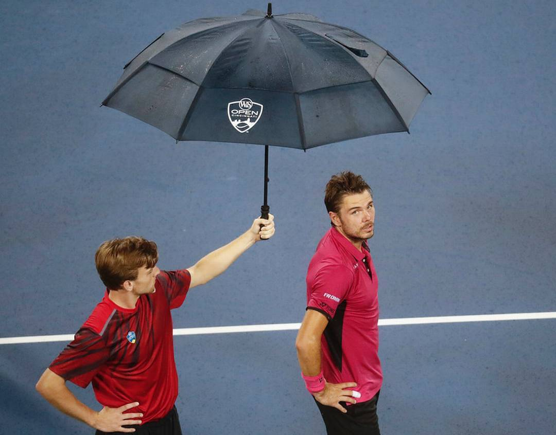 IMAGE: IG user @chda7777 / POST: From yesterday...no words necessary #CincyTennis #Wawrinka (pic via @suzumemochi)
