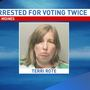 Iowa woman who tried to vote twice for Trump gets probation