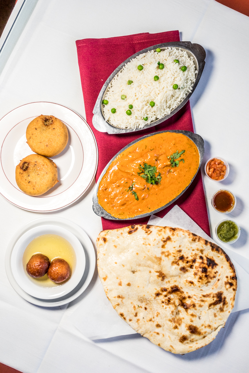 "RESTAURANT: Baba India / PICTURED: chicken tikka masala, plain naan, aloo tikka, and gulab jamun / ADDRESS: 3120 Madison Road (Madisonville) / PHONE: 513-321-1600 / WEBSITE:{&nbsp;}<a  href=""https://babarestaurant.com/"" target=""_blank"" title=""https://babarestaurant.com/"">babarestaurant.com</a>{&nbsp;}/ Image: Catherine Viox // Published: 11.2.20"