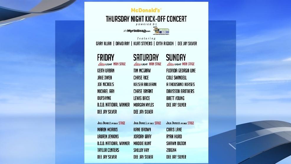 Music Festival Myrtle Beach
