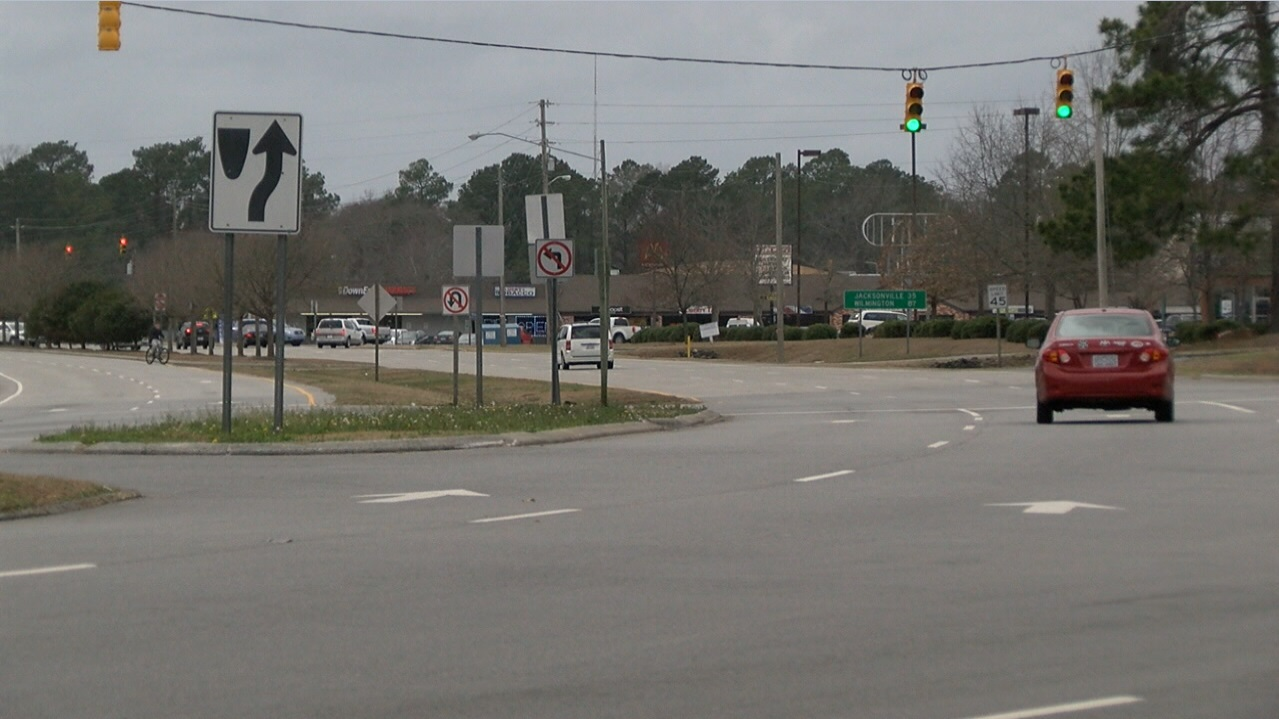 Thursday, members of the N.C. Department of Transportation talked with people who came to learn more and ask questions. Officials say the roundabout is a safer and easier alternative than what is currently in place. (Nate Belt, NewsChannel 12 photo)<p></p>