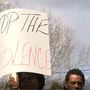 "Dozens attend ""Stop the Violence March"" in Hartsville"