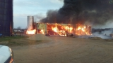Gretna dairy farm barn a complete loss after fire