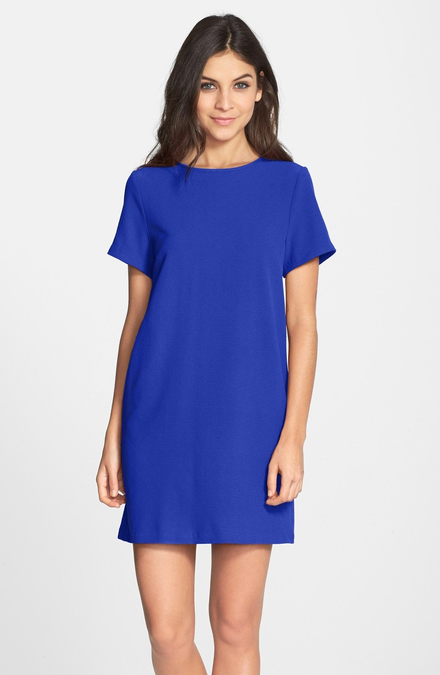 Crepe Shift Dress, $88                                    (Image: Nordstrom)