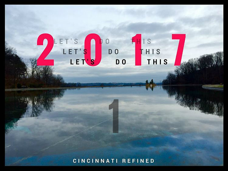 #1 - New year. New goals. Who is ready to get after 'em? / Image: Leah Zipperstein, Cincinnati Refined