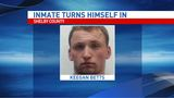 Shelby County inmate turns himself in after escaping