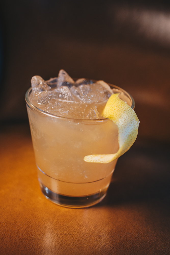 Tequila Trail: silver tequila, bourbon, grapefruit juice, lime, and agave / Image: Catherine Viox{ }// Published: 4.15.19