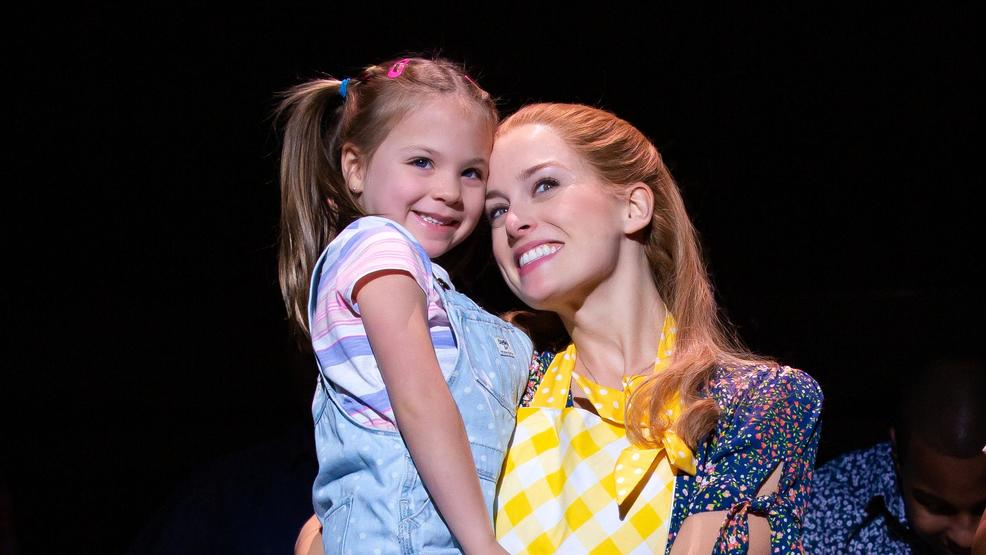 Hazel JenElise Davis as Lulu and Bailey McCall as Jenna in the National Tour of WAITRESS_ Photo credit Jeremy Daniel.JPG