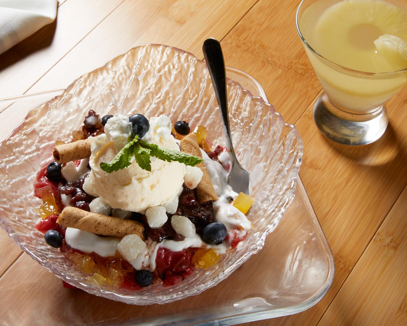 Patbingsu, a traditional Korean dessert / Image: Marlene Rounds // Published 9.18.18