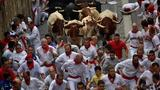 4 hospitalized after Pamplona's running of the bulls