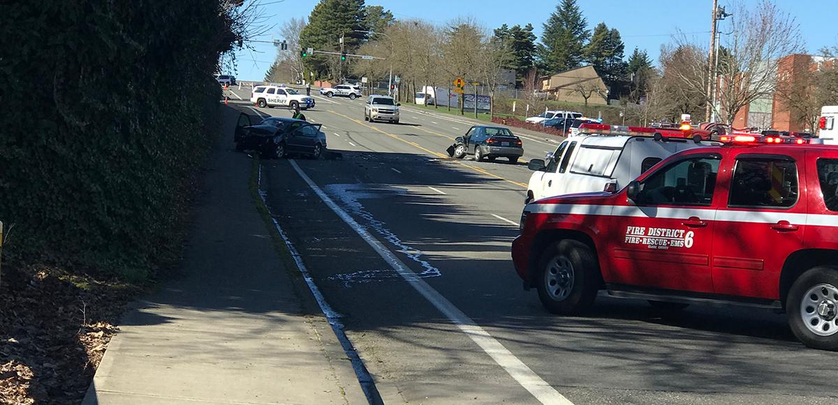 Deadly crash on 99th Street in Vancouver - Image from KATU photojournalist Brian Smith<p></p>