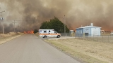 Evacuations recommended as wildfire burns out of control in northwest Oklahoma