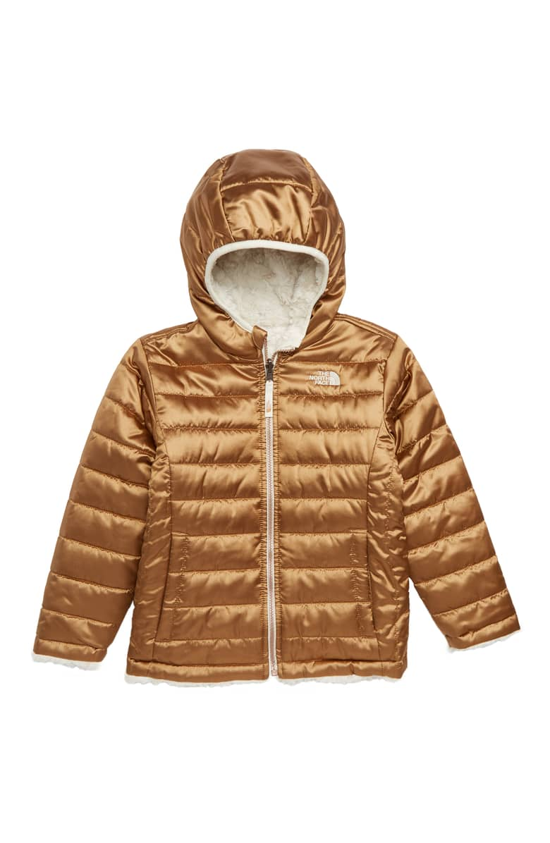 The North Face Mossbud Reversible Water Repellent Jacket, $90.{ }Treat the kiddos in your world to something fun! Put a smile on their face with these Nordstrom picks! (Image courtesy of Nordstrom).